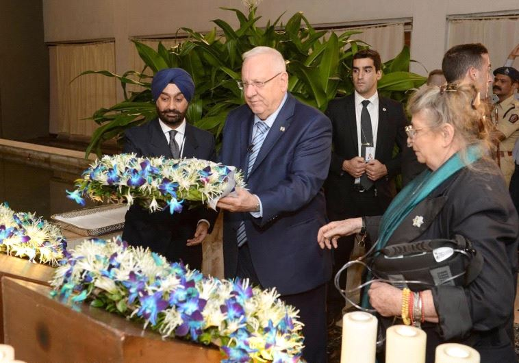 President Reuven Rivlin in India