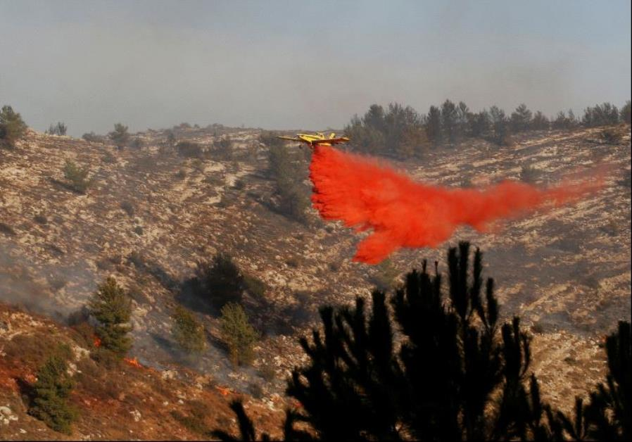 Fire in Israel