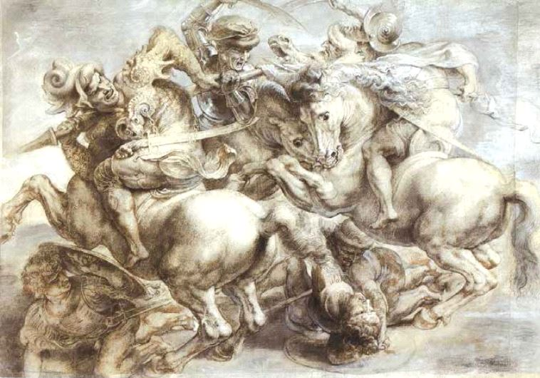 'The Battle of Anghiari.'