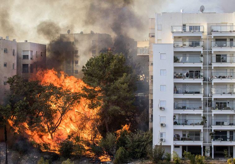 Fires rage across Israel