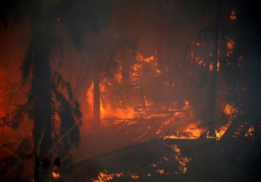 Fires wreck havoc across Israel