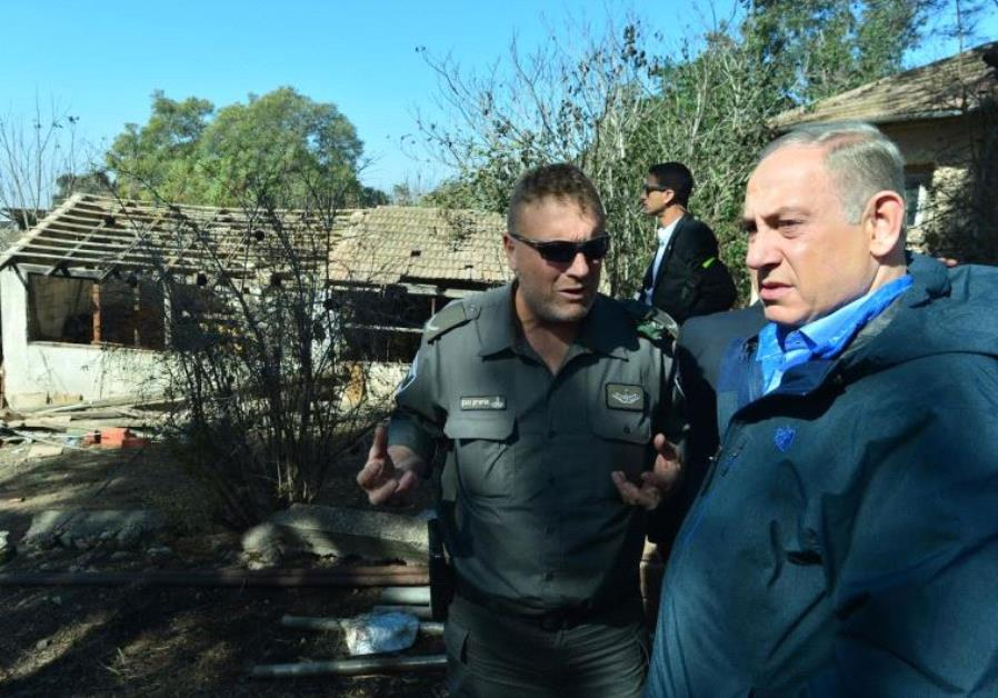 Prime Minister Benjamin Netanyahu visits fire torn Haifa