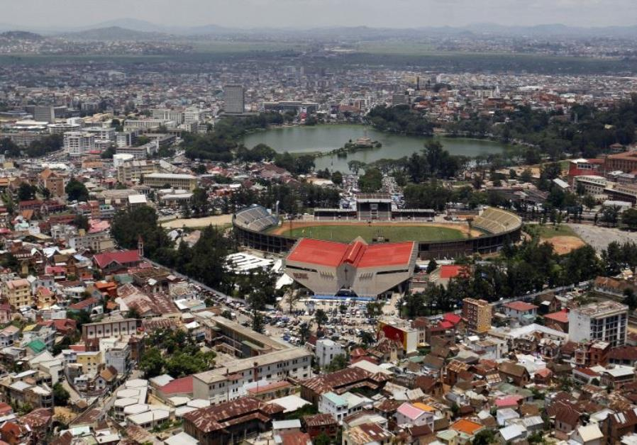 Capital of Madagscar, Antananarivo