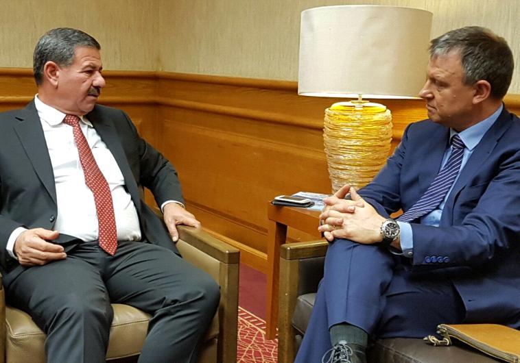 Margalit meeting Saad Abu-hammour
