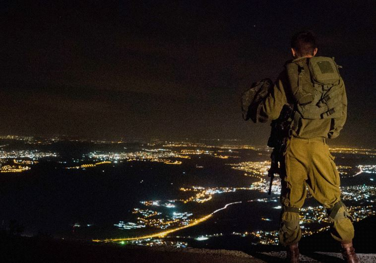 An IDF soldier.