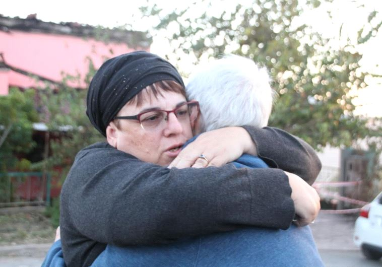 Halamish residents have vowed to rebuild. Photo: Tovah Lazaroff.