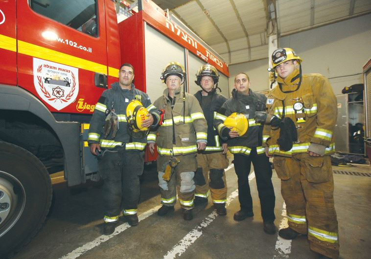 American firefighters