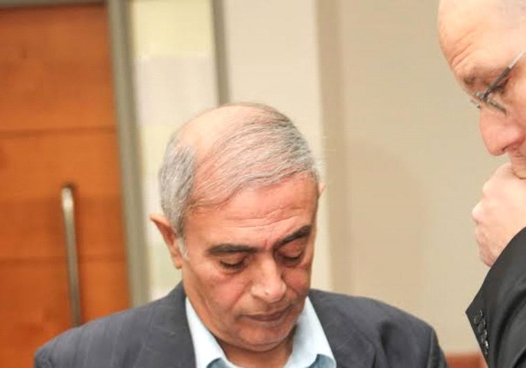 Former Nazareth District Court President Yitzhak Cohen at Rishon Lezion Magistrate's Court