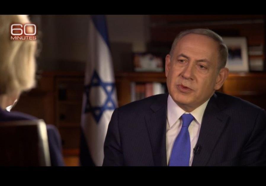 Benjamin Netanyahu on CBS 60 Minutes