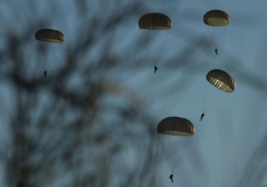 IDF Paratroopers.