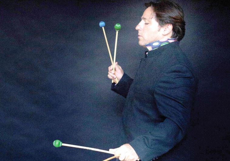 Percussionist Chen Zimbalista