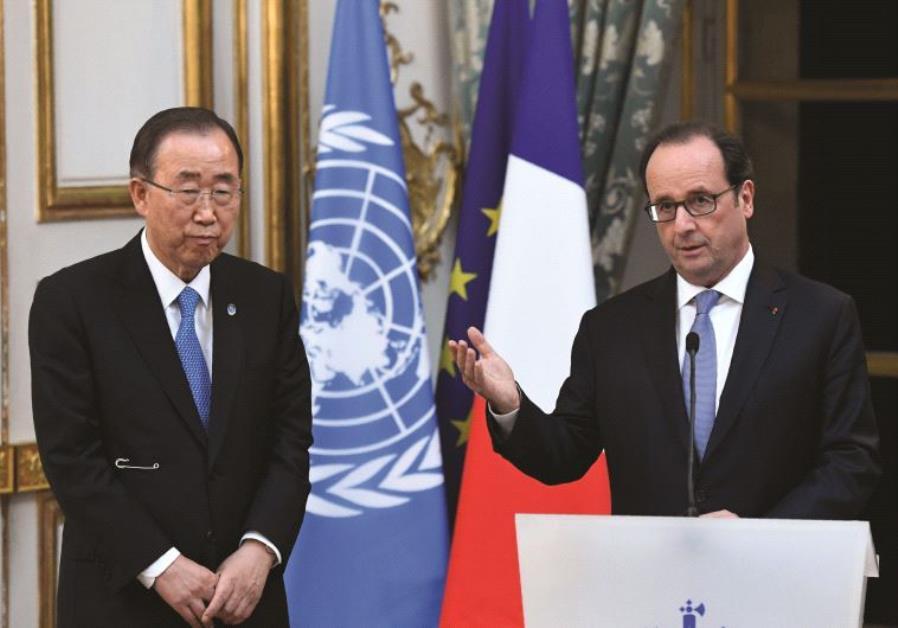 Le secrétaire général actuel de l'ONU, Ban Ki-moon