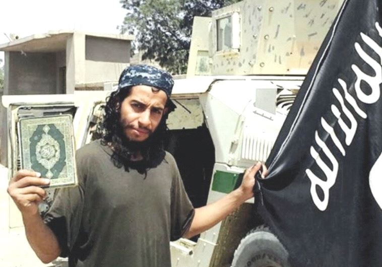 A PHOTOGRAPH of a man published in the Islamic State's magazine and described as a Belgian national