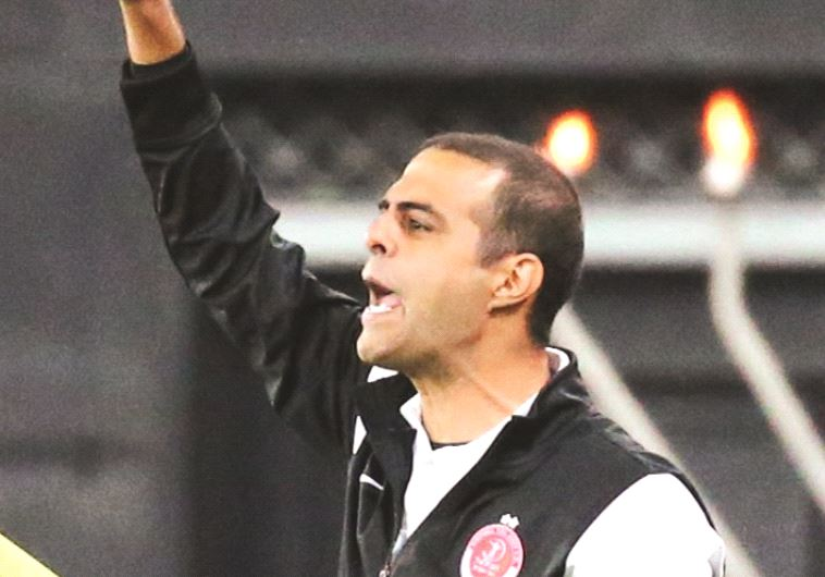 Hapoel Tel Aviv's coach Guy Luzon