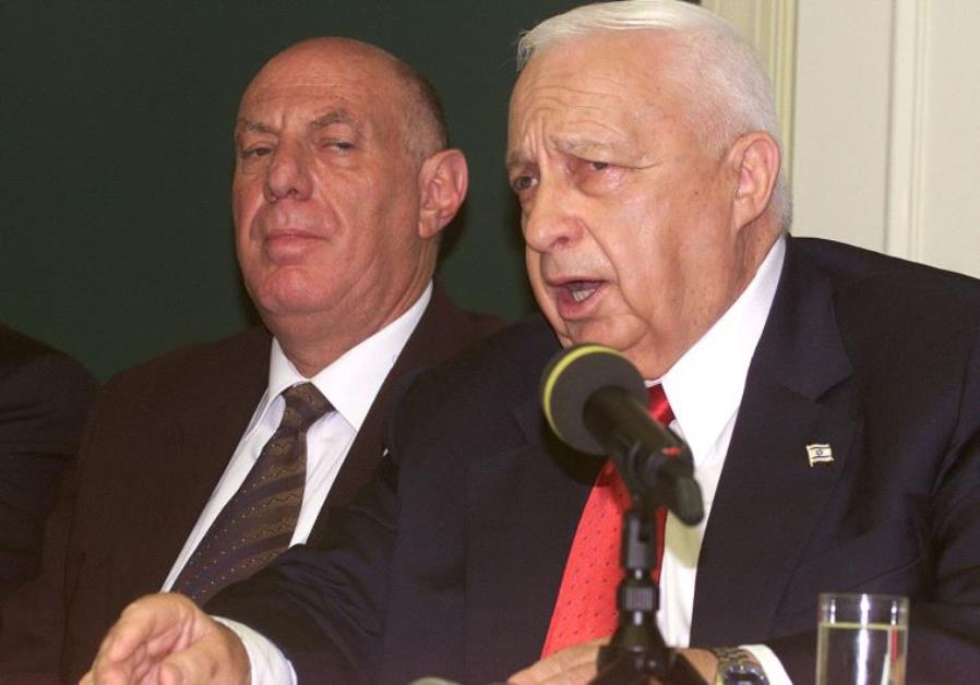 Ariel Sharon and Dov Weisglass