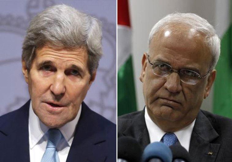 Kerry and Erekat
