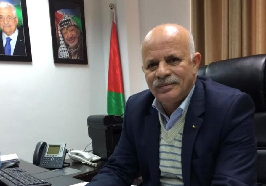 PA Deputy Telecommunications Minister Suleiman Zuhairi in his office in Ramallah on December 20, 201