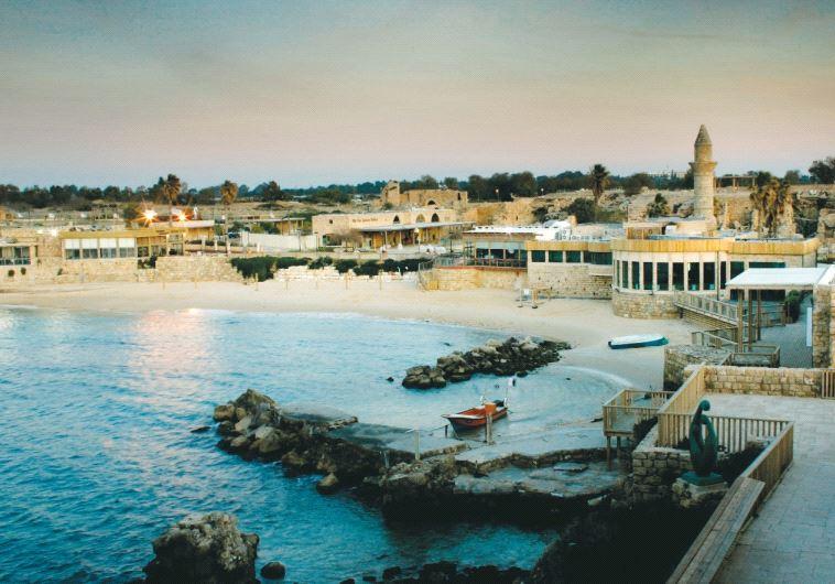 The port of Caesarea