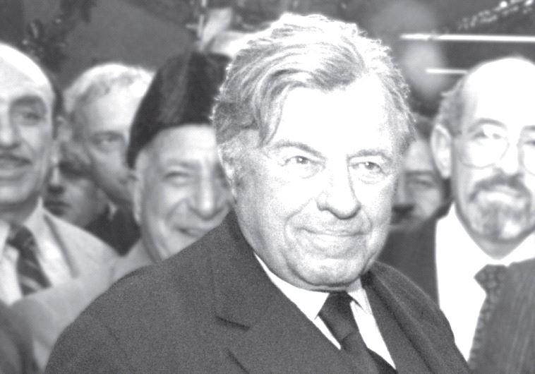 Jerusalem mayor Teddy Kollek