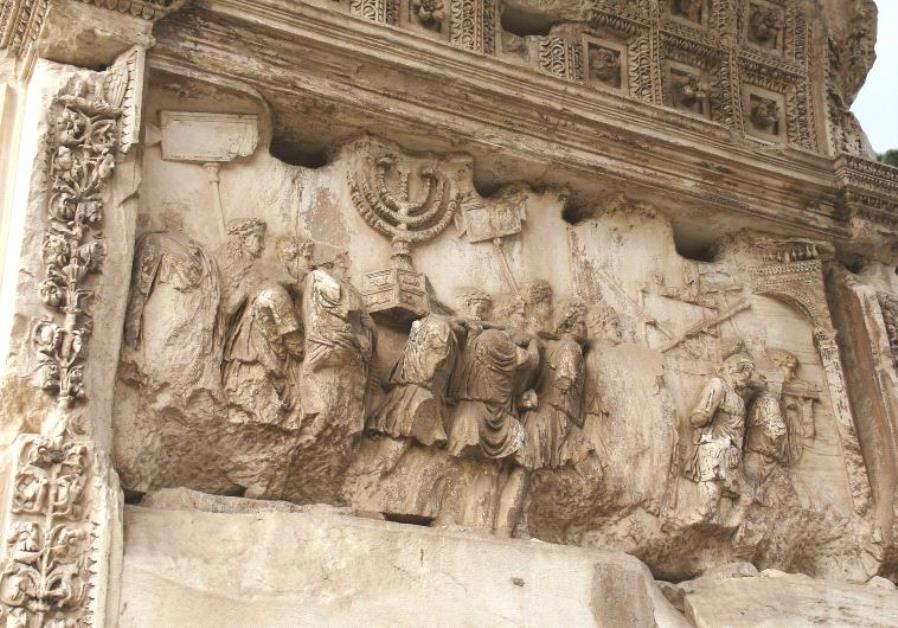 Un bas-relief de l'arc de Titus