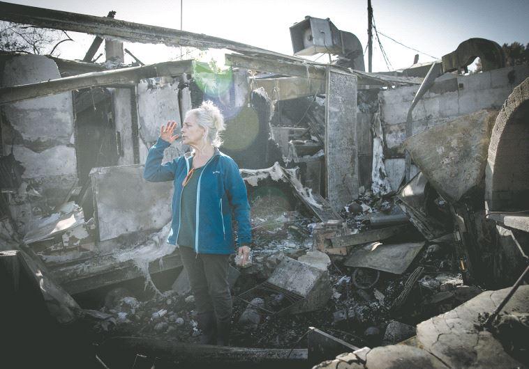 Nataf, un restaurant détruit
