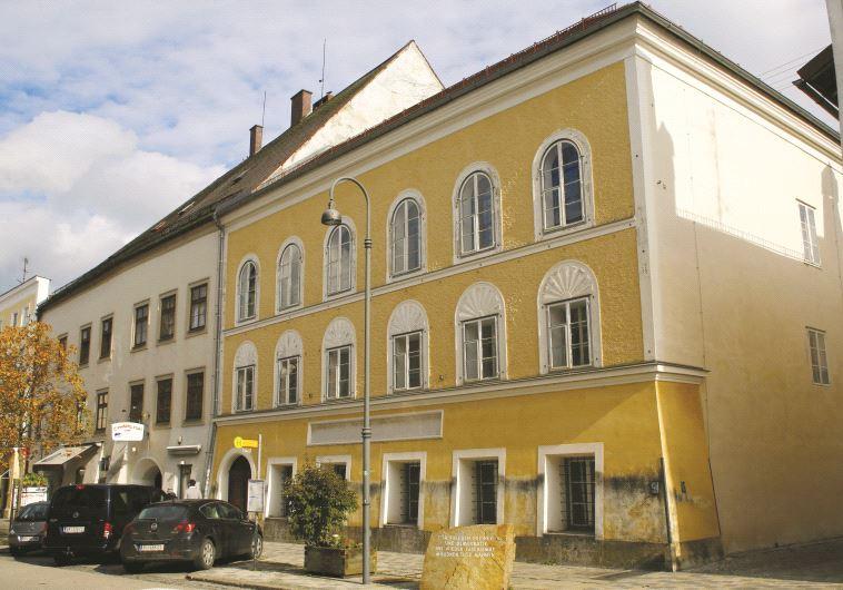 La maison natale d'Adolf Hitler à Braunau am Inn, en Autriche