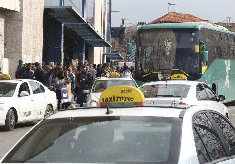 Bus strike in Jerusalem