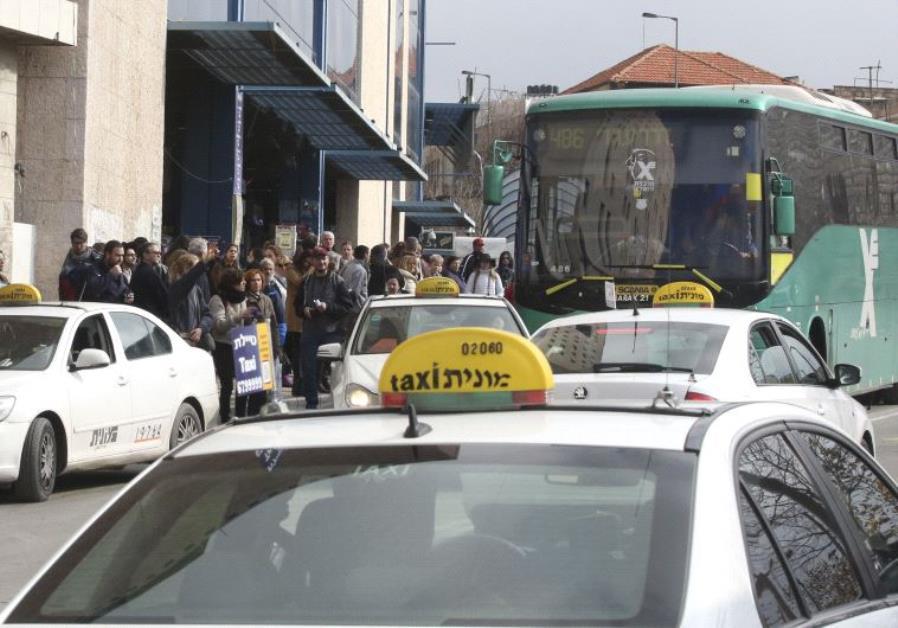 Bus strike in Jerusalem