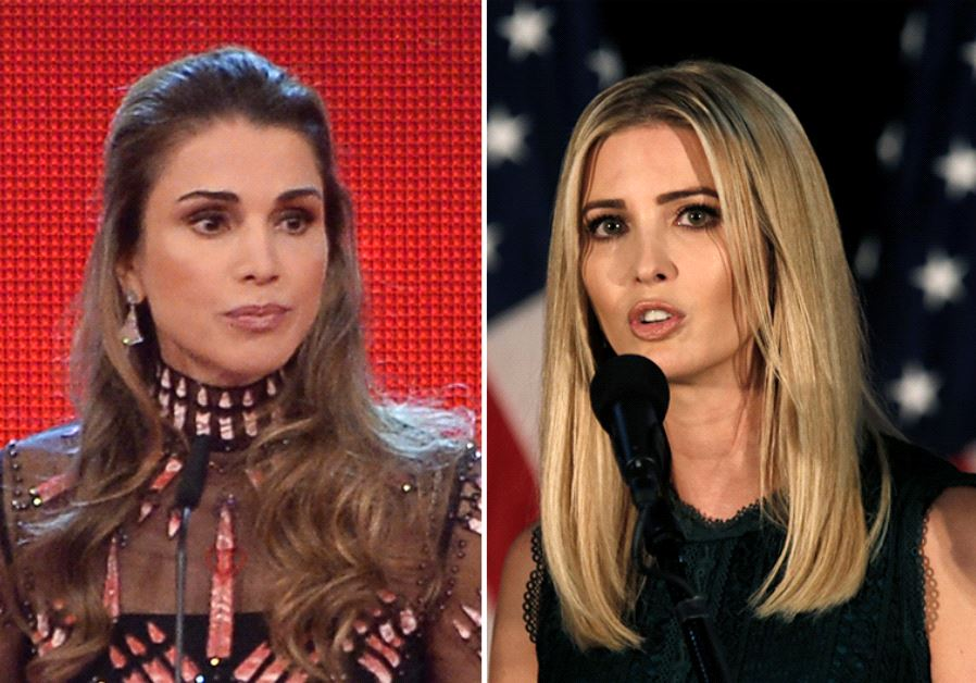 Queen Rania and Ivanka Trump