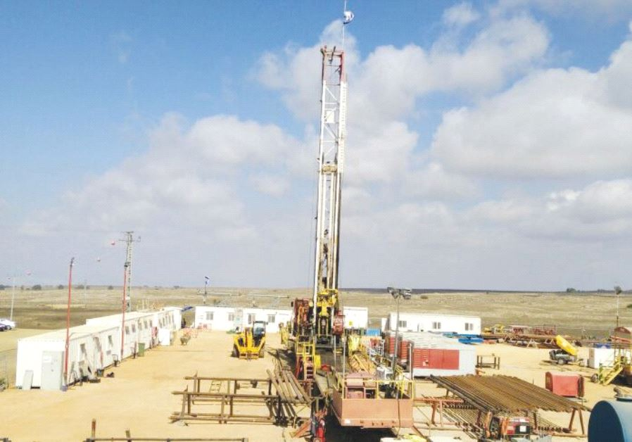 AFEK COMPLETED work on the Mei Debbie water well in the Golan Heights last September.
