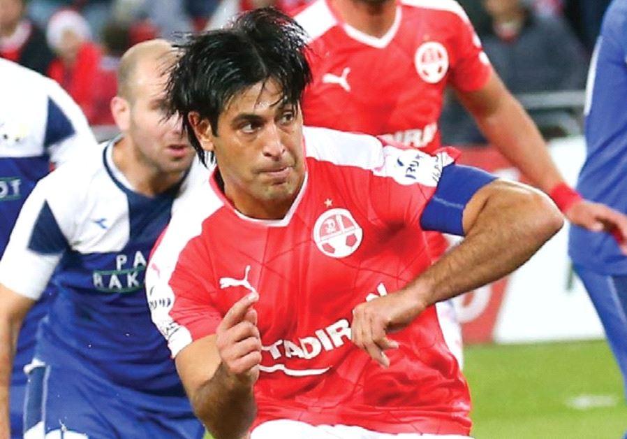 After missing much of the season to date through injuries, Hapoel Beersheba captain Elyaniv Barda is