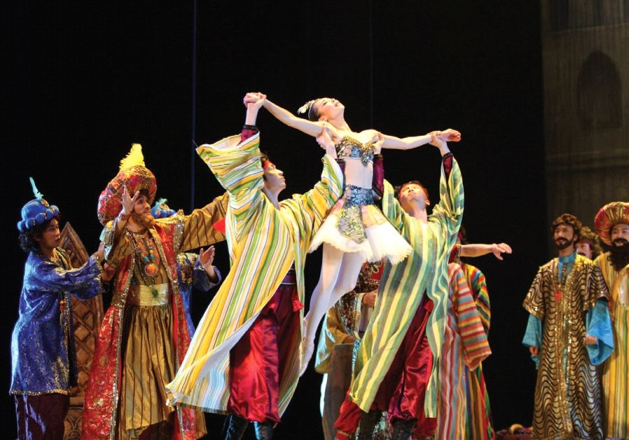 The ballet company from China