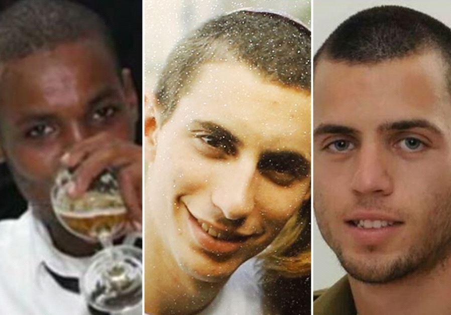 Cativos israelenses no Hamas (Cortesia)