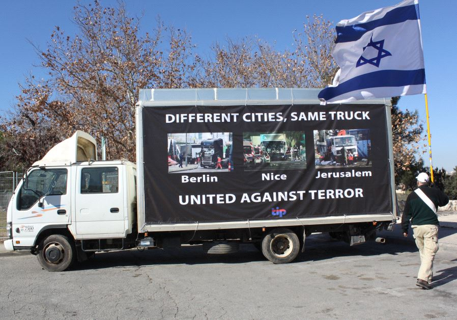 The Israel Project truck