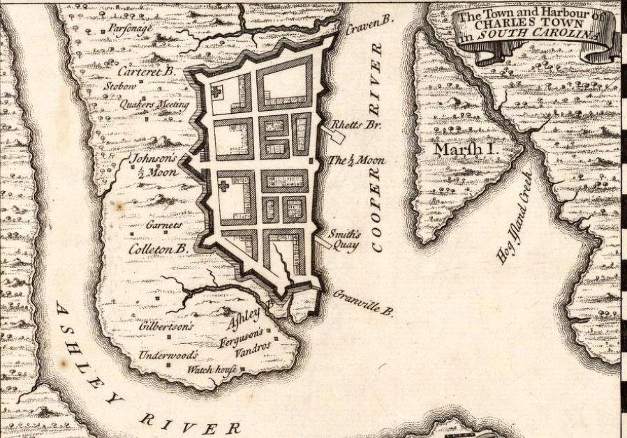 Charleston in 1733