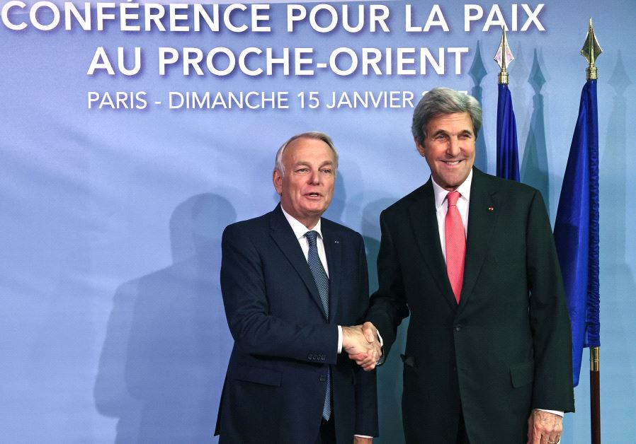 Mideast peace conference in Paris