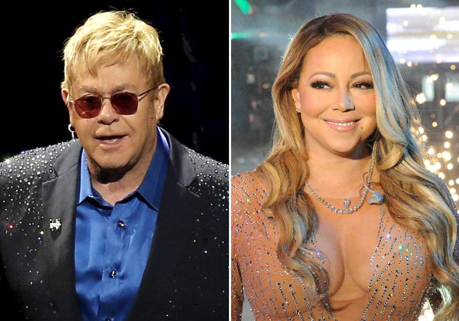 Elton John and Mariah Carey