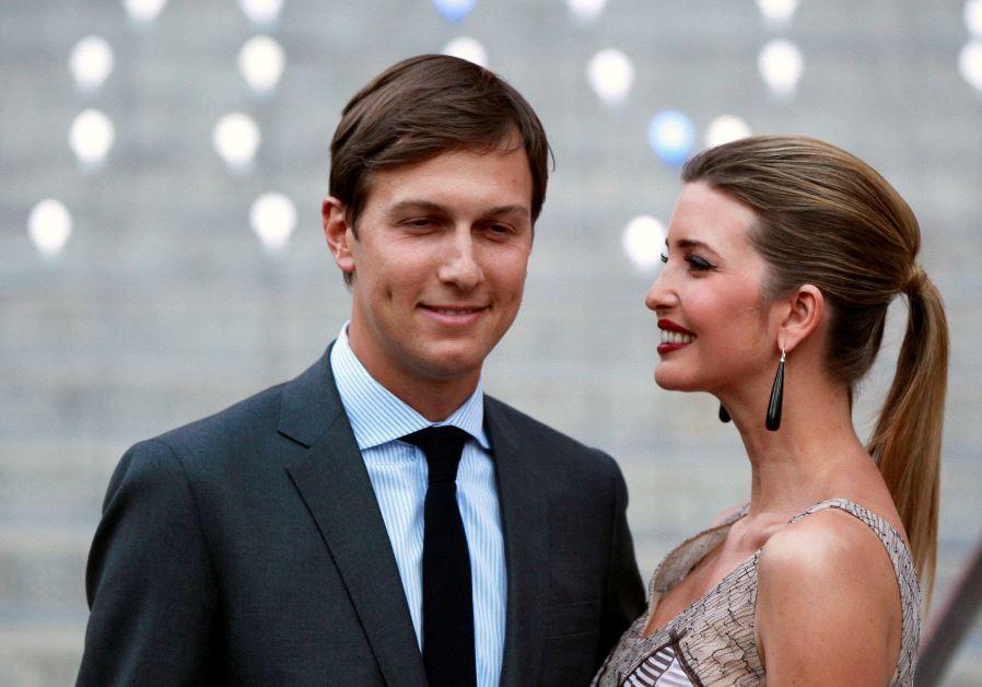 Ivanka Trump with husband Jared Kushner