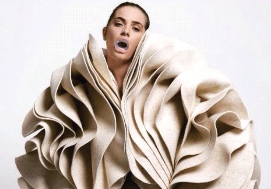 Alternative fashion is part of Ze'ev Engelmayer's exhibition