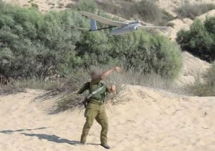 IDF soldier with a drone