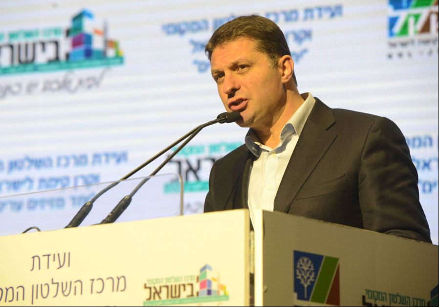 Haim Bibas, chairman of the Union of Local Authorities in Israel and mayor of Modi'in