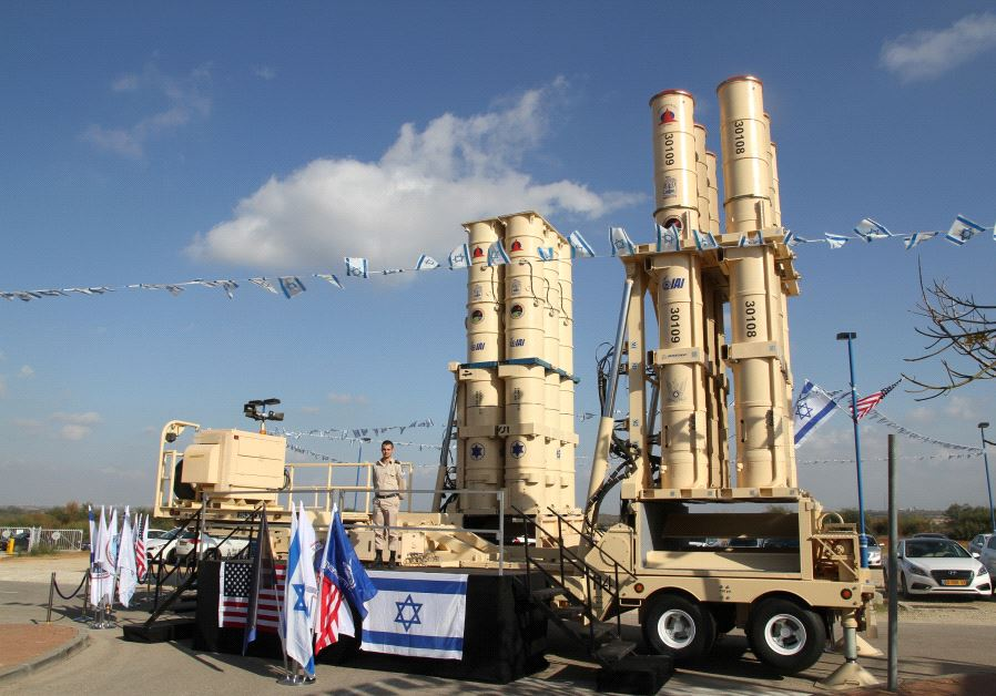 Israeli Air Force receives Arrow-3 ballistic interceptors in formal transfer ceremony.