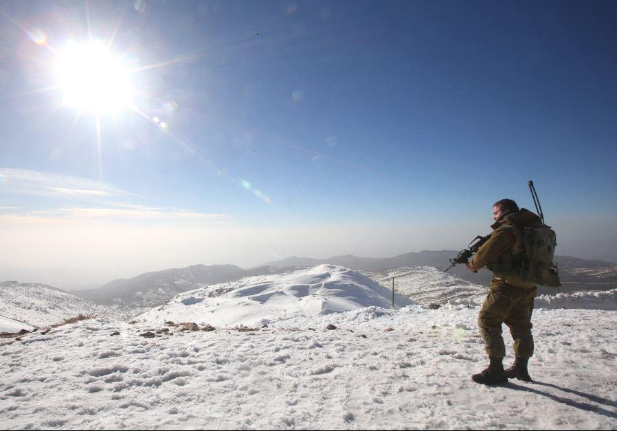 IDF on the Hermon