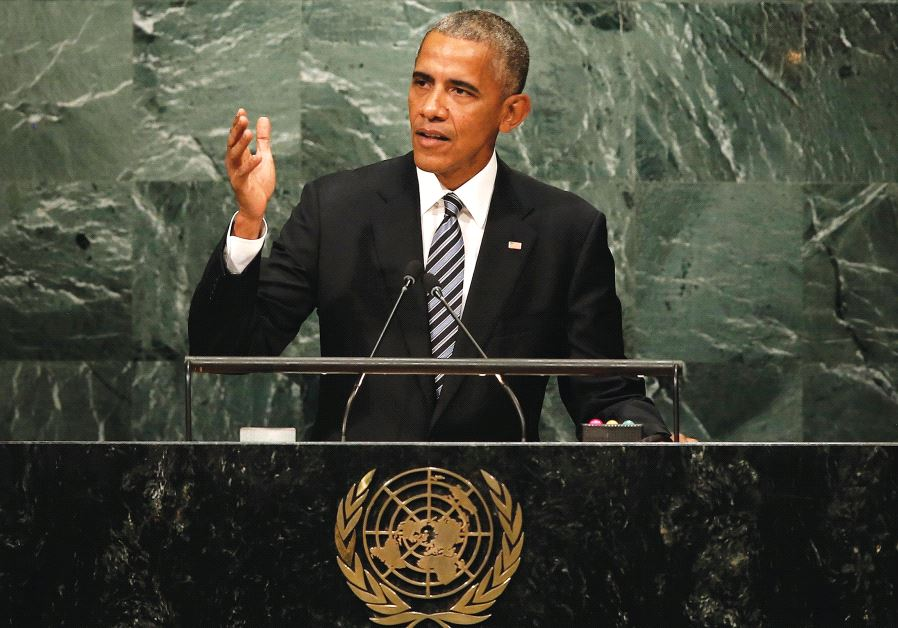 Obama delivers his final address to the United Nations General Assembly