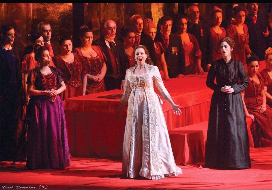 ISRAEL OPERA'S production of 'Lucia di Lammermoor.'