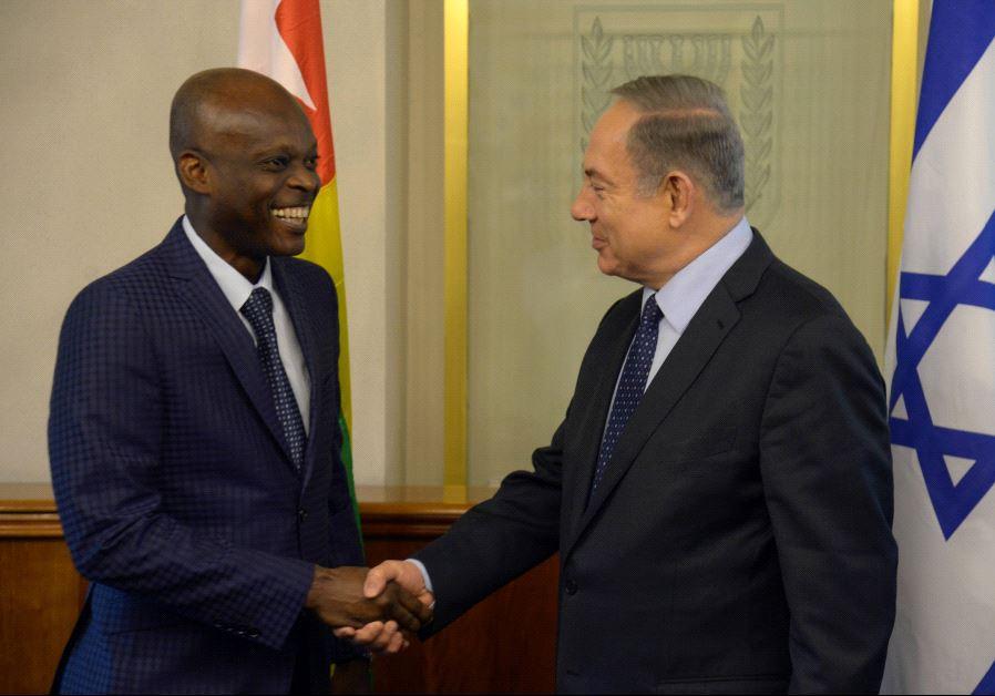 Netanyahu Robert Dussey