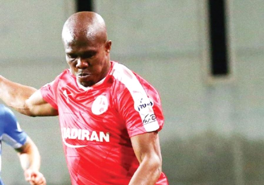 Since scoring in four straight Premier League matches, Hapoel Beersheba forward Anthony Nwakaeme has