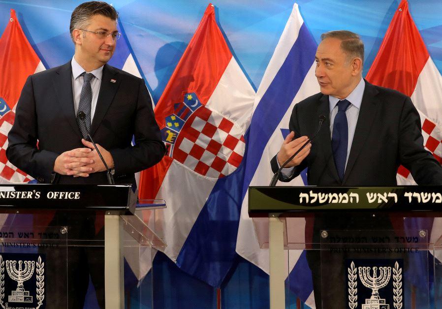 Netanyahu and Plenkovic