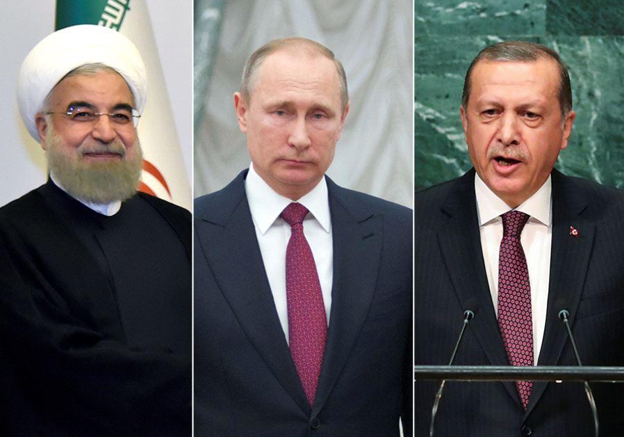 Turkey Iran Russia