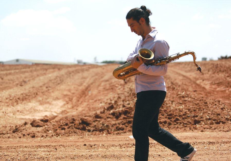 Saxophonist Amit Friedman.